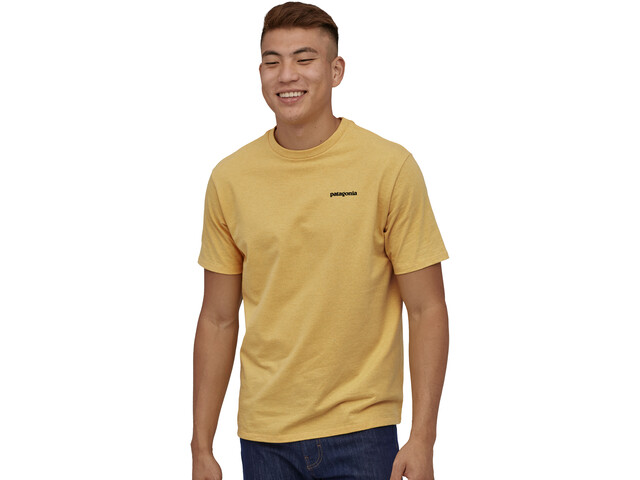 Patagonia P-6 Logo Responsibili-Tee Men, surfboard yellow